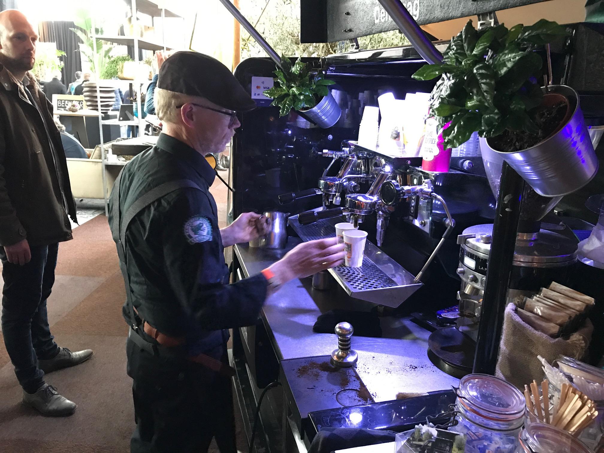 mobiele koffiebar den haag