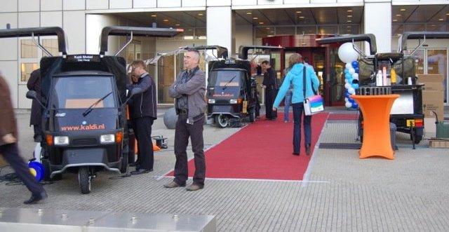 mobiele koffiebar Amsterdam