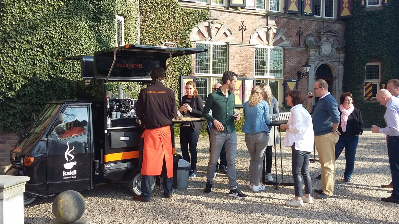 Mobiel Kantoor Huren : Mobiele koffiebar hilversum koffie en thee catering op locatie